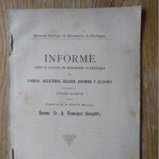 Libros antiguos: LIBRO CUADERNO 1912 SALVAMENTO NÁUFRAGOS MADRID IMPRENTA HIJOS DE M.G.HERNÁNDEZ.SOCIEDAD ESPAÑOLA DE. Lote 122174387