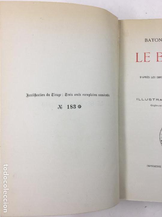 Libros antiguos: Bayonne sous lempire, Le Blocus de 1814, E. Ducéré, 1900, illustrations, Bayonne. 17x24,5cm - Foto 2 - 122539335