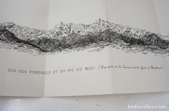 Libros antiguos: Les hautes pyrénées, étude historique et géographique, M. Bois, C. Durier, 1885, Tarbes. 12x18cm - Foto 8 - 122763871