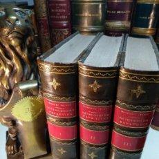 Libros antiguos: HISTORIA DE LOS HETERODOXOS ESPAÑOLES - DON MARCELINO MENENDEZ PELAYO - 3 TOMOS - 1880 - MADRID -. Lote 122818799