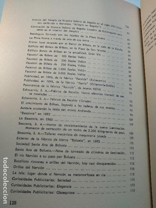 Libros antiguos: PANORÁMICAS Y REMEMBRANZAS DE BILBAO - ALBERTO DIEGUEZ BERBEN - COLECC. EL COFRE BILBAINO - 1973 - Foto 11 - 122820591