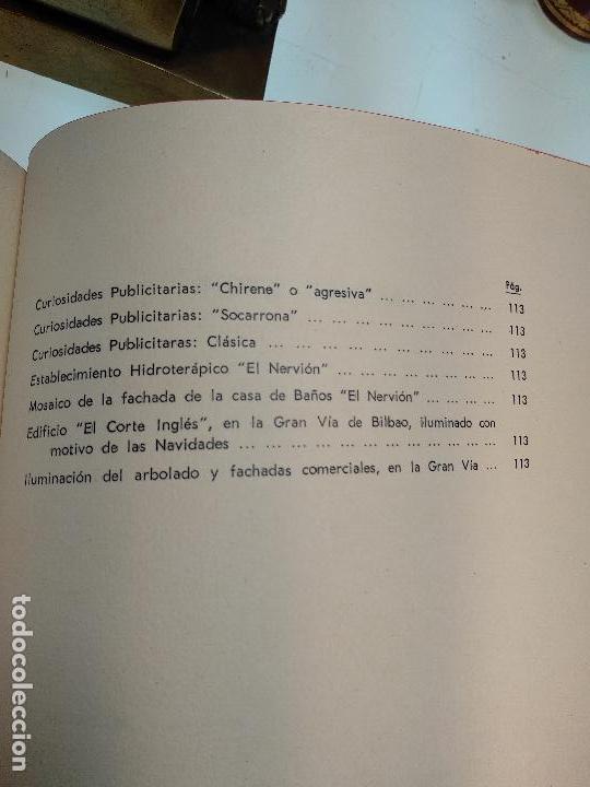 Libros antiguos: PANORÁMICAS Y REMEMBRANZAS DE BILBAO - ALBERTO DIEGUEZ BERBEN - COLECC. EL COFRE BILBAINO - 1973 - Foto 12 - 122820591
