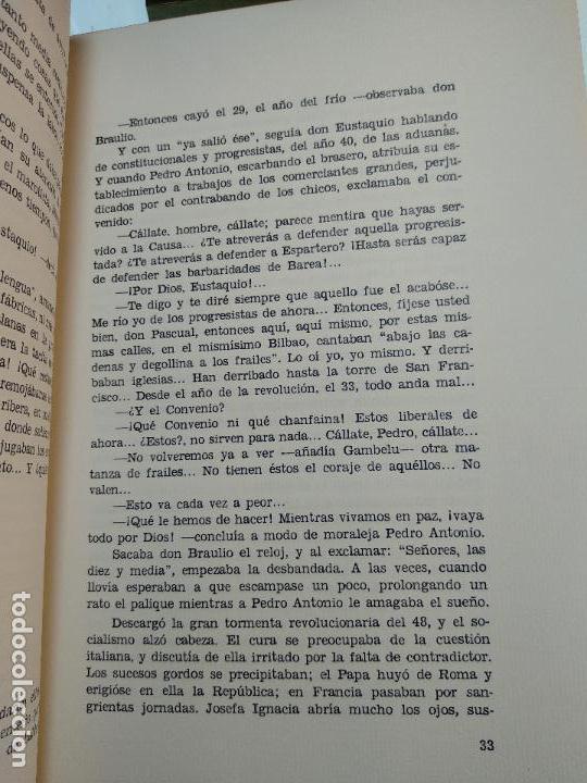 Libros antiguos: PAZ EN LA GUERRA - MIGUEL DE UNAMUNO - COLECC. EL COFRE BILBAINO - 1972 - BILBAO - NUMERADO - - Foto 6 - 122821235
