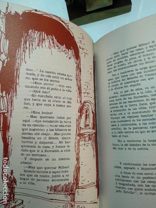 Libros antiguos: PAZ EN LA GUERRA - MIGUEL DE UNAMUNO - COLECC. EL COFRE BILBAINO - 1972 - BILBAO - NUMERADO - - Foto 7 - 122821235