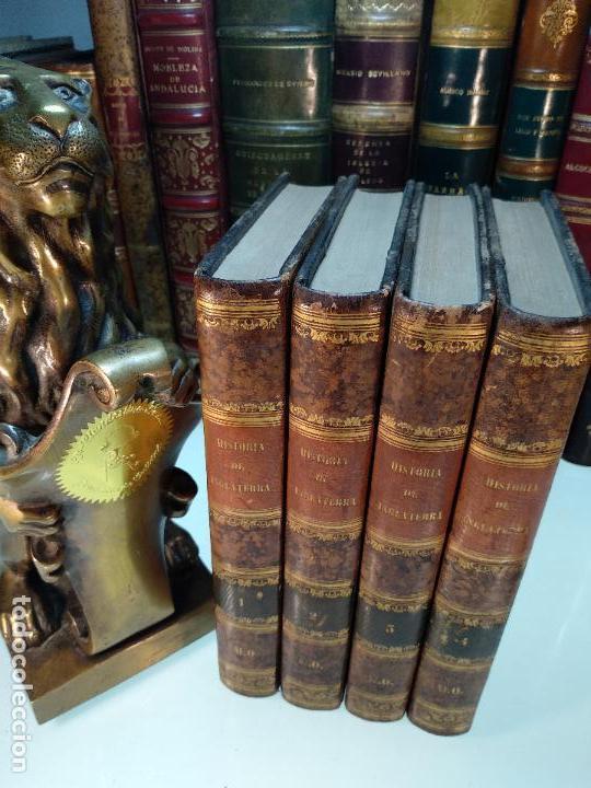 HISTORIA DE INGLATERRA POR OLIVERIO GOLDSMITH - VERTIDA AL CASTELLANO POR DON ANGEL FERNANDEZ DE LOS (Libros antiguos (hasta 1936), raros y curiosos - Historia Moderna)