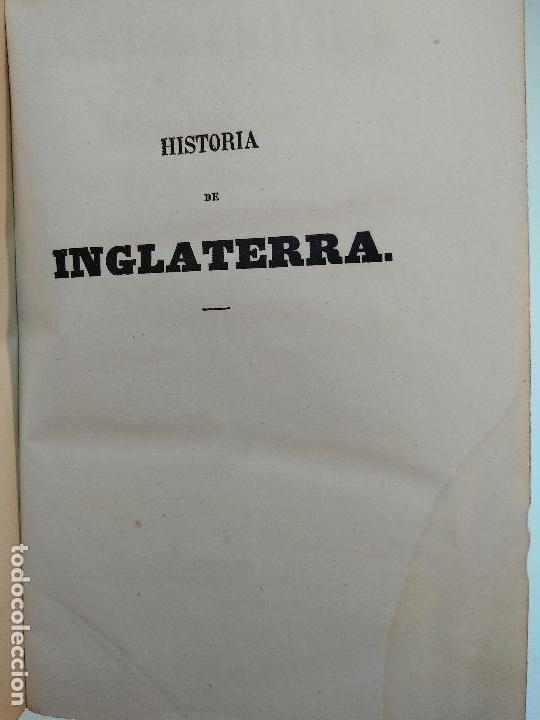 Libros antiguos: HISTORIA DE INGLATERRA POR OLIVERIO GOLDSMITH - VERTIDA AL CASTELLANO POR DON ANGEL FERNANDEZ DE LOS - Foto 4 - 122821915