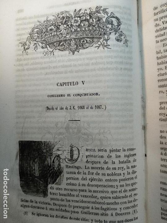 Libros antiguos: HISTORIA DE INGLATERRA POR OLIVERIO GOLDSMITH - VERTIDA AL CASTELLANO POR DON ANGEL FERNANDEZ DE LOS - Foto 8 - 122821915