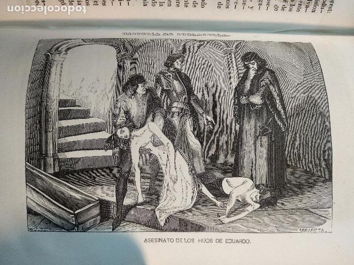 Libros antiguos: HISTORIA DE INGLATERRA POR OLIVERIO GOLDSMITH - VERTIDA AL CASTELLANO POR DON ANGEL FERNANDEZ DE LOS - Foto 10 - 122821915