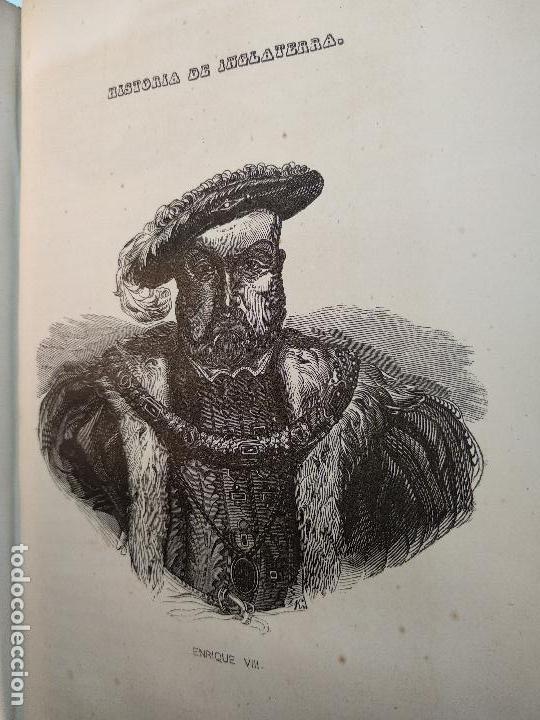 Libros antiguos: HISTORIA DE INGLATERRA POR OLIVERIO GOLDSMITH - VERTIDA AL CASTELLANO POR DON ANGEL FERNANDEZ DE LOS - Foto 11 - 122821915