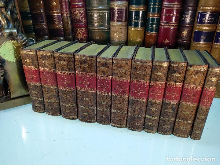 OBRAS DE DON DIEGO DE SAAVEDRA FAXARDO - 11 TOMOS - EN LA OFICINA DE D. BENITO CANO - MADRID - 1789 (Libros antiguos (hasta 1936), raros y curiosos - Historia Moderna)
