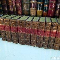 Libros antiguos: OBRAS DE DON DIEGO DE SAAVEDRA FAXARDO - 11 TOMOS - EN LA OFICINA DE D. BENITO CANO - MADRID - 1789 . Lote 122824867