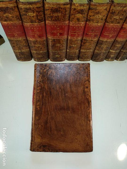 Libros antiguos: OBRAS DE DON DIEGO DE SAAVEDRA FAXARDO - 11 TOMOS - EN LA OFICINA DE D. BENITO CANO - MADRID - 1789 - Foto 6 - 122824867