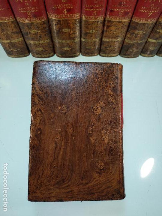 Libros antiguos: OBRAS DE DON DIEGO DE SAAVEDRA FAXARDO - 11 TOMOS - EN LA OFICINA DE D. BENITO CANO - MADRID - 1789 - Foto 16 - 122824867