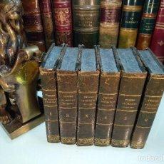 Libros antiguos: REVOLUCIÓN FRANCESA POR M. A. THIERS - 6 TOMOS - ESTABLECIMIENTO TIPOGRÁFICO DE D.F. DE P. MELLADO -. Lote 122825207
