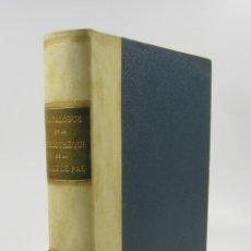 Libros antiguos: CATALOGUE DE LA BIBLIOTHÈQUE DE LA VILLE DE PAU, L. SOULICE, 1886, PAU, CON DEDICATORIA. 19X25CM. Lote 123306307