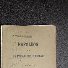 Libros antiguos: BAYONA. PAIS VASCO. HISTORIA VASCA.. Lote 124247199