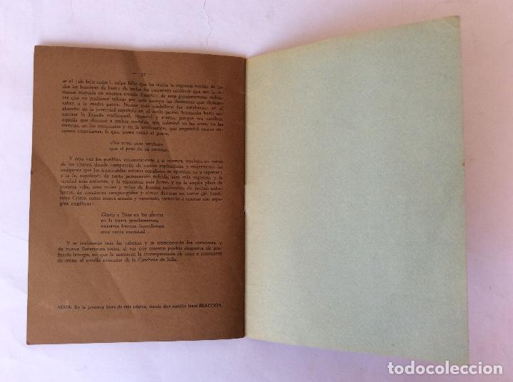 Libros antiguos: LIBRO FOLLETO. ELÍAS OLMOS CANALDA. LA CARCHOFA DE SILLA. SILLA. VALENCIA. 1939. - Foto 5 - 125147731