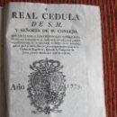 Libros antiguos: 1773-EXPULSIÓN DE LOS JESUITAS DE ESPAÑA POR CARLOS III.PAPA CLEMENTE XIV.DOS DOCUMENTOS.ORIGINALES. Lote 125904675