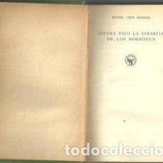 Libros antiguos: ESPAÑA BAJO LA DINASTIA DE LOS BORBONES - MANUEL CIGES APARICIO - 1932. Lote 126207651