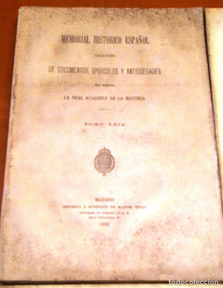 Libros antiguos: MEMORIAL HISTÓRICO ESPAÑOL. HISTORIA DE CARLOS IV 6 TOMOS (MURIEL 1893-95) SIN USAR - Foto 2 - 126575147