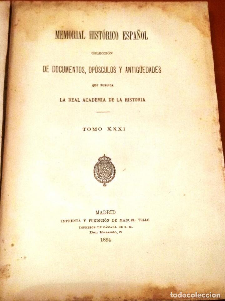Libros antiguos: MEMORIAL HISTÓRICO ESPAÑOL. HISTORIA DE CARLOS IV 6 TOMOS (MURIEL 1893-95) SIN USAR - Foto 4 - 126575147