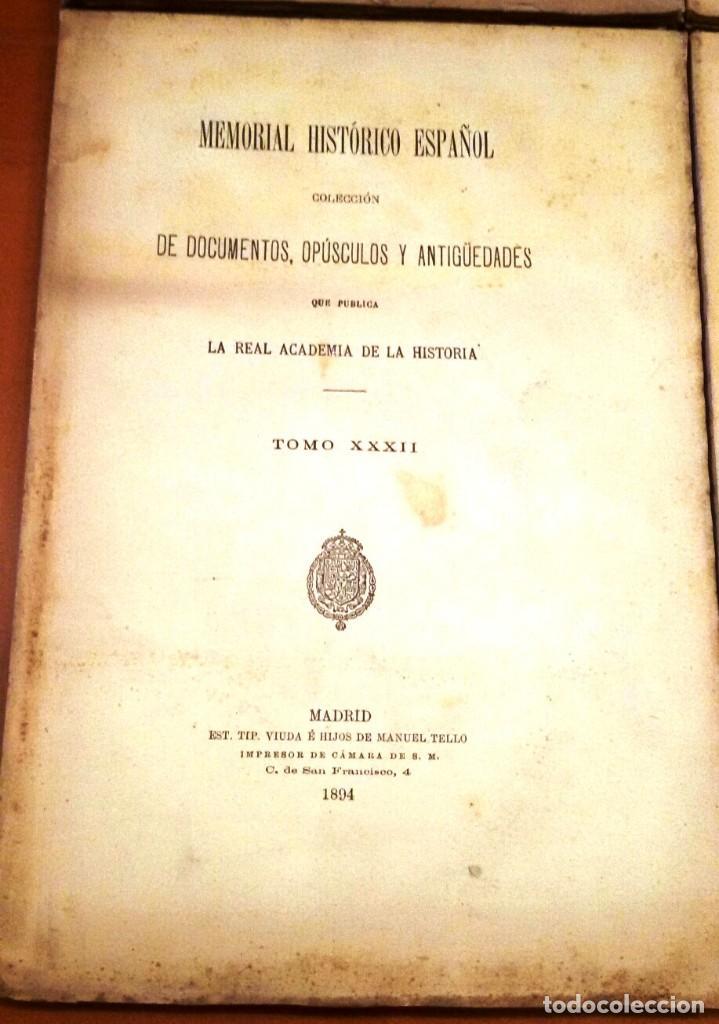 Libros antiguos: MEMORIAL HISTÓRICO ESPAÑOL. HISTORIA DE CARLOS IV 6 TOMOS (MURIEL 1893-95) SIN USAR - Foto 5 - 126575147