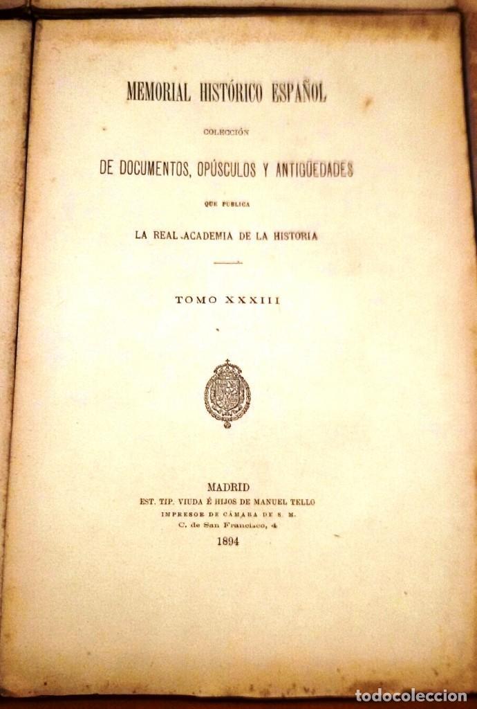 Libros antiguos: MEMORIAL HISTÓRICO ESPAÑOL. HISTORIA DE CARLOS IV 6 TOMOS (MURIEL 1893-95) SIN USAR - Foto 6 - 126575147