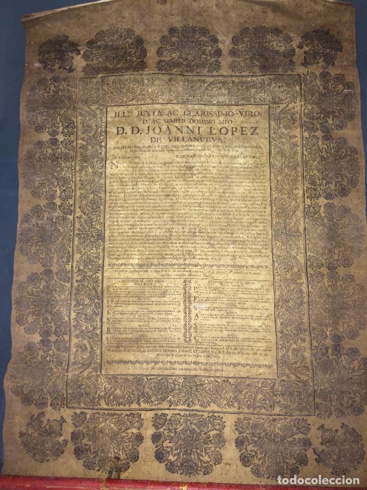 Libros antiguos: PERGAMINO DE 1757 DE GRAN RAREZA - Foto 3 - 127228355