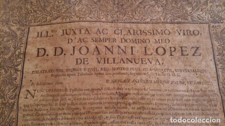 Libros antiguos: PERGAMINO DE 1757 DE GRAN RAREZA - Foto 11 - 127228355