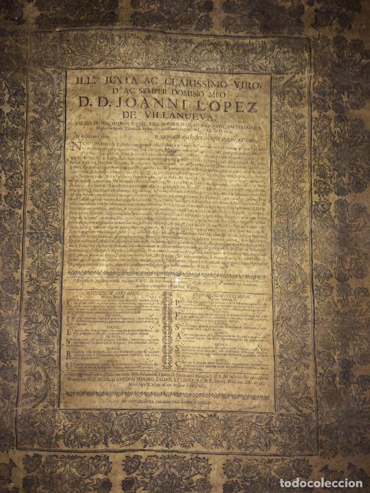 Libros antiguos: PERGAMINO DE 1757 DE GRAN RAREZA - Foto 13 - 127228355