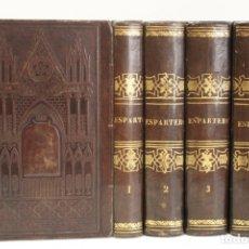 Libros antiguos: ESPARTERO. HISTORIA DE SU VIDA MILITAR Y POLÍTICA Y DE LOS GRANDES SUCESOS CONTEMPORÁNEOS. ESCRITA B. Lote 123188507