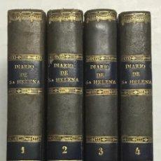Libros antiguos: DIARIO DE LA ISLA DE SANTA-HELENA: CONTIENE TODO LO RELATIVO A LA VIDA PUBLICA Y PRIVADA DE NAPOLEON. Lote 123206799