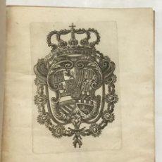 Alte Bücher - OBSEQUIOSA DEMONSTRACION, QUE A SU AUGUSTO MONARCHA DON CARLOS III (QUE DIOS GUARDE) PUESTO A LOS RE - 123148711