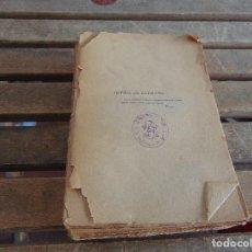 Libros antiguos: HISTORIA DE LOS MOVIMIENTOS SEPARACION Y GUERRA DE CATALUÑA FELIPE IV MANUEL DE MELO 1912 . Lote 128356667