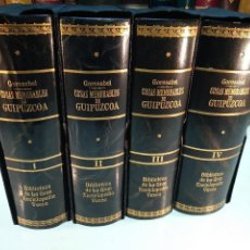 Libros antiguos: NOTICIAS DE LAS COSAS MEMORABLES DE GUIPÚZCOA - PABLO DE GOROSÁBEL - 4 TOMOS -ENCUADERNACIÓN DE LUJO. Lote 128480431
