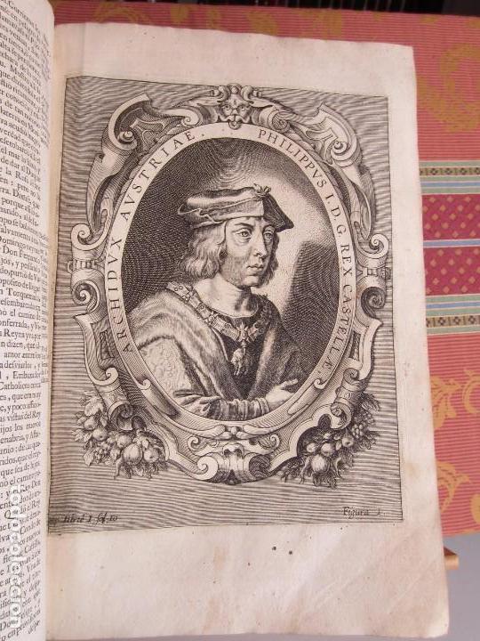 Libros antiguos: 1681-VIDA DEL EMPERADOR CARLOS V. SANDOVAL.GERONIMO VERDUSSEN.COMPLETA EN DOS TOMOS CON 48 GRABADOS - Foto 10 - 130004959
