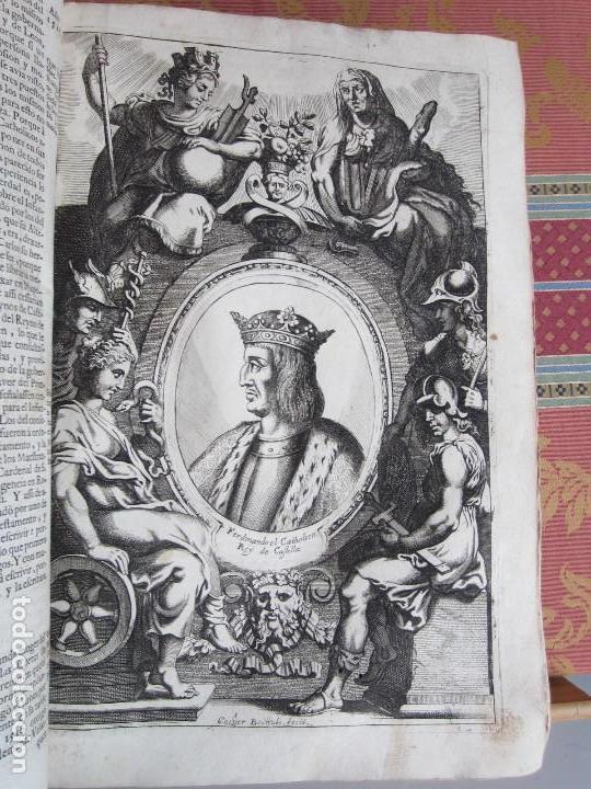 Libros antiguos: 1681-VIDA DEL EMPERADOR CARLOS V. SANDOVAL.GERONIMO VERDUSSEN.COMPLETA EN DOS TOMOS CON 48 GRABADOS - Foto 11 - 130004959