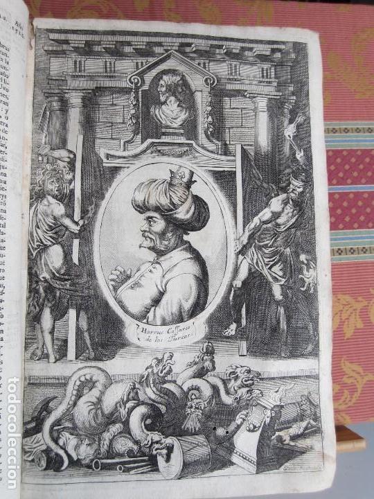 Libros antiguos: 1681-VIDA DEL EMPERADOR CARLOS V. SANDOVAL.GERONIMO VERDUSSEN.COMPLETA EN DOS TOMOS CON 48 GRABADOS - Foto 12 - 130004959