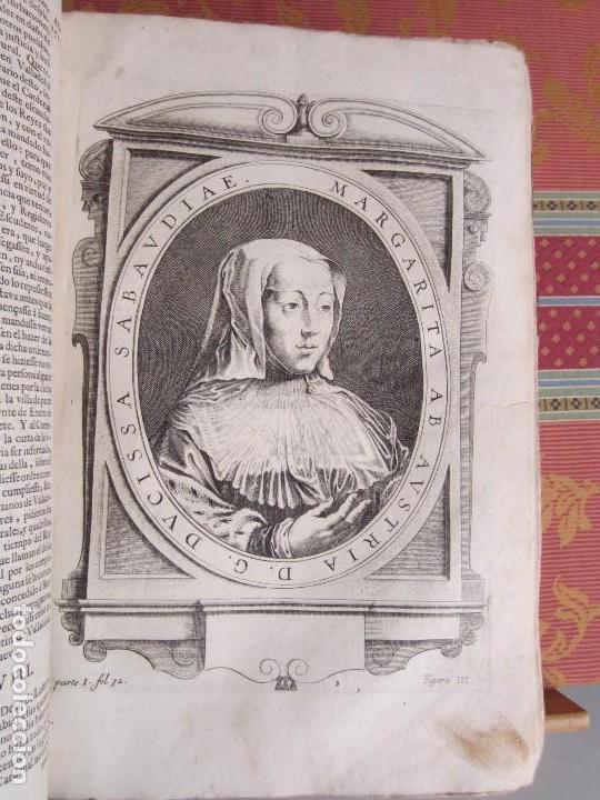 Libros antiguos: 1681-VIDA DEL EMPERADOR CARLOS V. SANDOVAL.GERONIMO VERDUSSEN.COMPLETA EN DOS TOMOS CON 48 GRABADOS - Foto 13 - 130004959