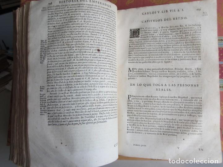 Libros antiguos: 1681-VIDA DEL EMPERADOR CARLOS V. SANDOVAL.GERONIMO VERDUSSEN.COMPLETA EN DOS TOMOS CON 48 GRABADOS - Foto 16 - 130004959