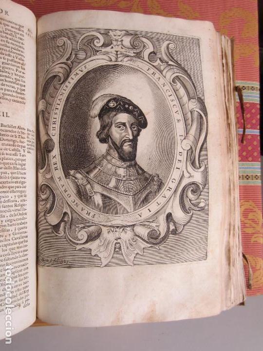 Libros antiguos: 1681-VIDA DEL EMPERADOR CARLOS V. SANDOVAL.GERONIMO VERDUSSEN.COMPLETA EN DOS TOMOS CON 48 GRABADOS - Foto 18 - 130004959