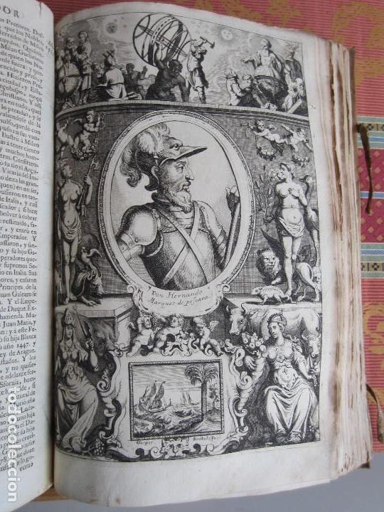 Libros antiguos: 1681-VIDA DEL EMPERADOR CARLOS V. SANDOVAL.GERONIMO VERDUSSEN.COMPLETA EN DOS TOMOS CON 48 GRABADOS - Foto 19 - 130004959