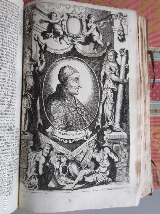 Libros antiguos: 1681-VIDA DEL EMPERADOR CARLOS V. SANDOVAL.GERONIMO VERDUSSEN.COMPLETA EN DOS TOMOS CON 48 GRABADOS - Foto 20 - 130004959