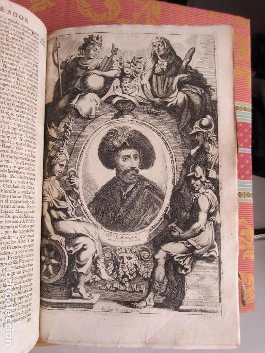 Libros antiguos: 1681-VIDA DEL EMPERADOR CARLOS V. SANDOVAL.GERONIMO VERDUSSEN.COMPLETA EN DOS TOMOS CON 48 GRABADOS - Foto 21 - 130004959