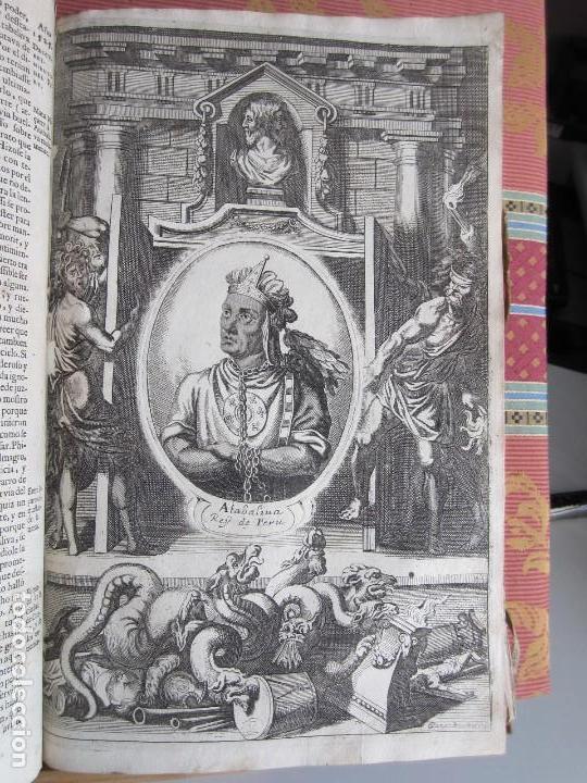Libros antiguos: 1681-VIDA DEL EMPERADOR CARLOS V. SANDOVAL.GERONIMO VERDUSSEN.COMPLETA EN DOS TOMOS CON 48 GRABADOS - Foto 24 - 130004959