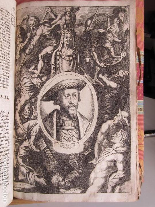 Libros antiguos: 1681-VIDA DEL EMPERADOR CARLOS V. SANDOVAL.GERONIMO VERDUSSEN.COMPLETA EN DOS TOMOS CON 48 GRABADOS - Foto 25 - 130004959