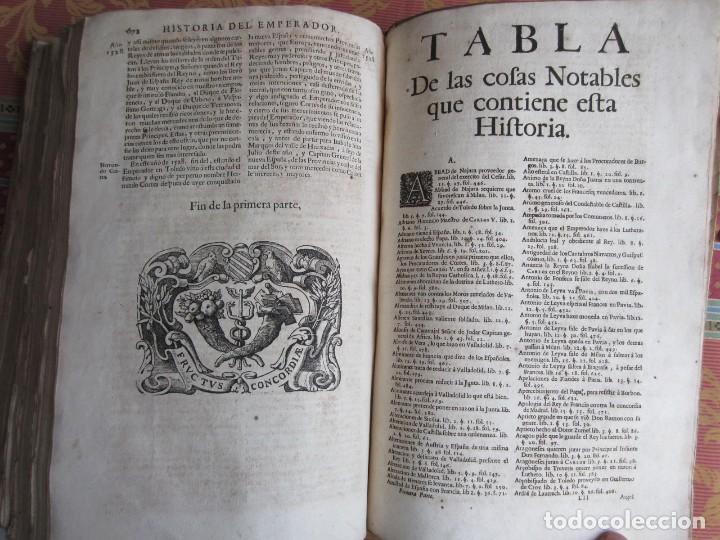 Libros antiguos: 1681-VIDA DEL EMPERADOR CARLOS V. SANDOVAL.GERONIMO VERDUSSEN.COMPLETA EN DOS TOMOS CON 48 GRABADOS - Foto 26 - 130004959