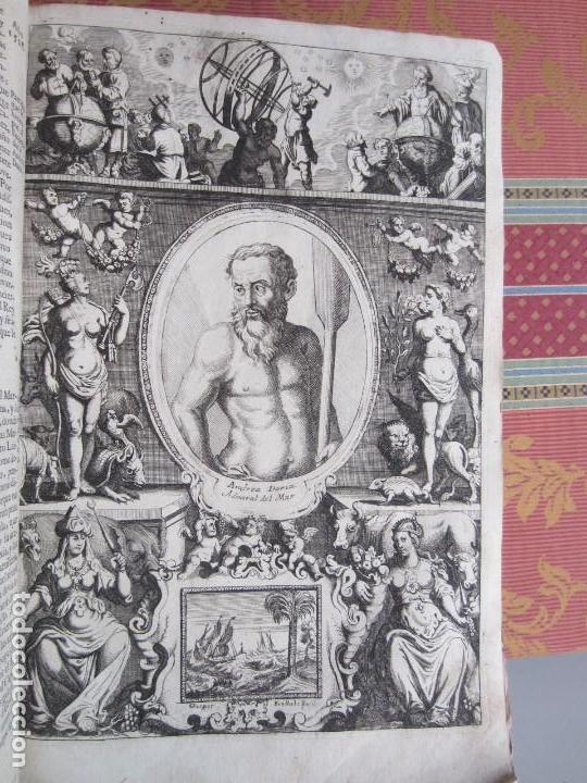 Libros antiguos: 1681-VIDA DEL EMPERADOR CARLOS V. SANDOVAL.GERONIMO VERDUSSEN.COMPLETA EN DOS TOMOS CON 48 GRABADOS - Foto 33 - 130004959