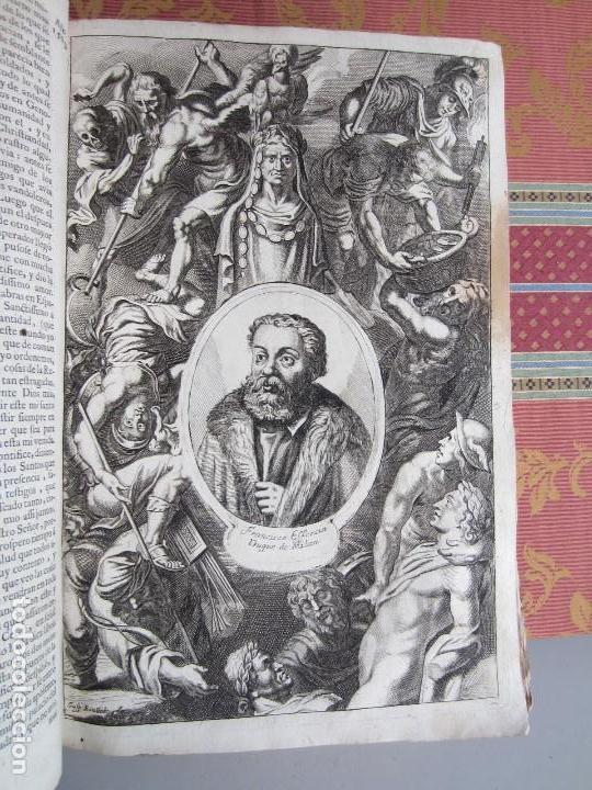 Libros antiguos: 1681-VIDA DEL EMPERADOR CARLOS V. SANDOVAL.GERONIMO VERDUSSEN.COMPLETA EN DOS TOMOS CON 48 GRABADOS - Foto 34 - 130004959