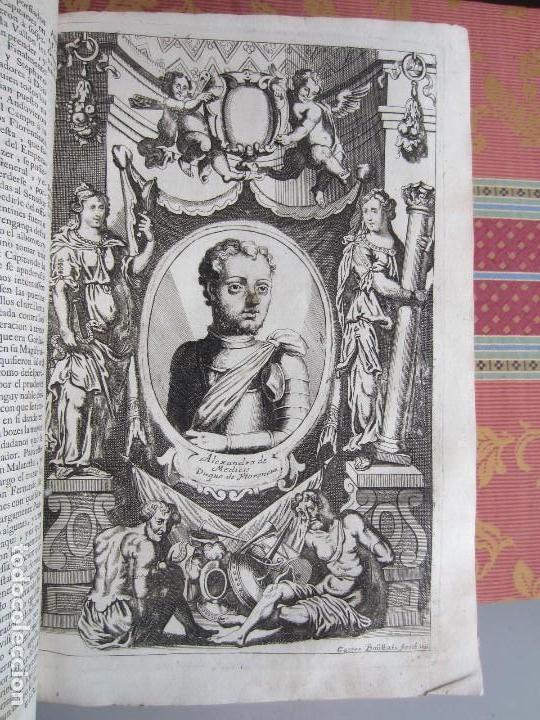 Libros antiguos: 1681-VIDA DEL EMPERADOR CARLOS V. SANDOVAL.GERONIMO VERDUSSEN.COMPLETA EN DOS TOMOS CON 48 GRABADOS - Foto 35 - 130004959